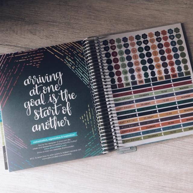 Erin Condren LifePlanner Loryn Design