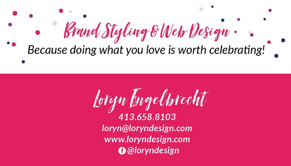 Loryn Design Business Card