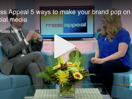 Loryn on Mass Appeal: 5 Ways To POP Your Brand on Social Media!