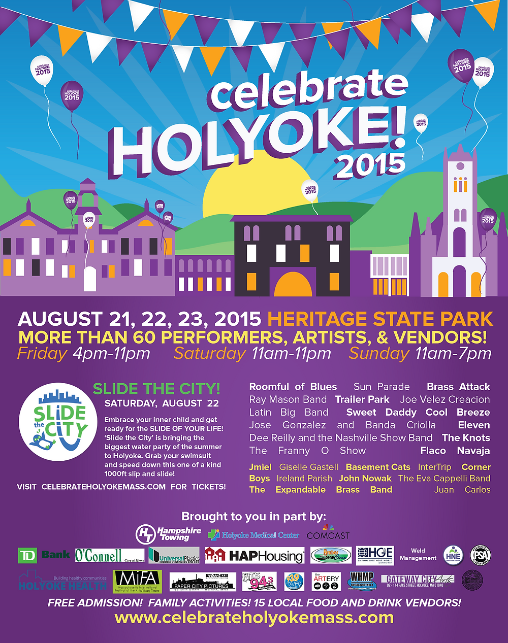 Loryn Design - Celebrate Holyoke Poster 2