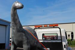 Fiberglass Dinosaur