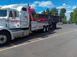 Hampshire Towing - Armored Truck Tow