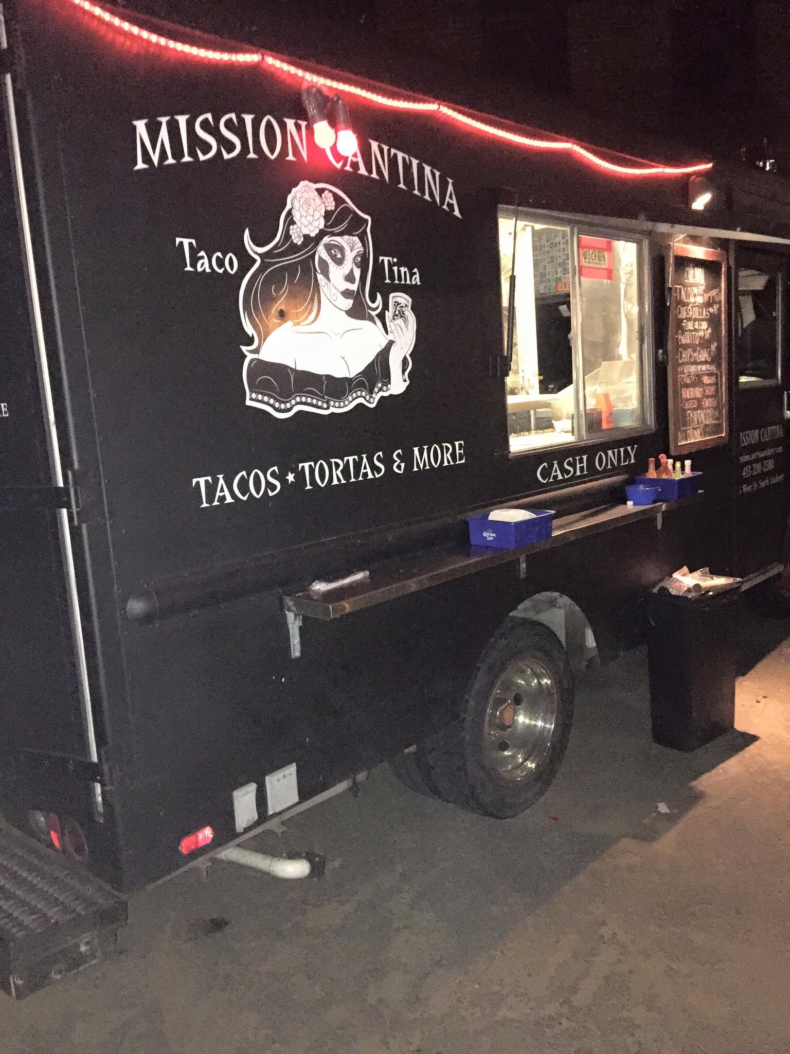 Nighttime Taco Tina Catering