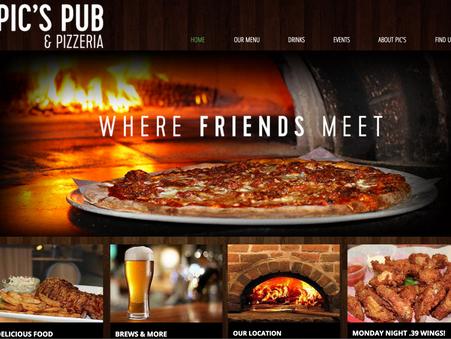 Portfolio - Pic's Pub & Pizzeria