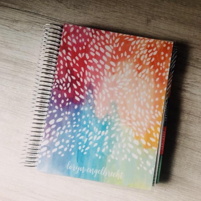 Erin Condren Planner Loryn Design
