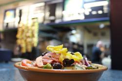 Salad Cheshire Village Pizza