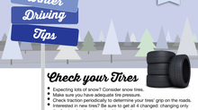 Winter Driving Tips Brought to you Pleasant Street Auto!