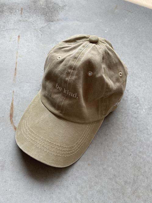 ROCKY ROSA - BE KIND CAP - GREEN