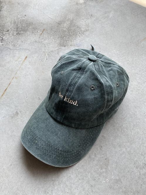ROCKY ROSA - BE KIND CAP - DARK GREEN