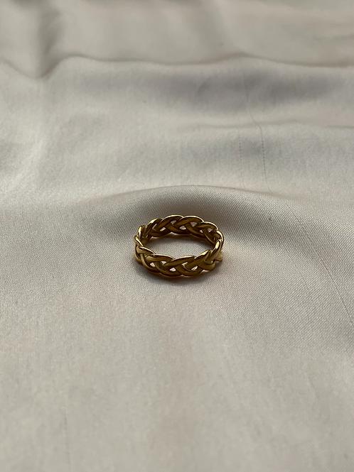 LARA RING - SILVER & GOLD