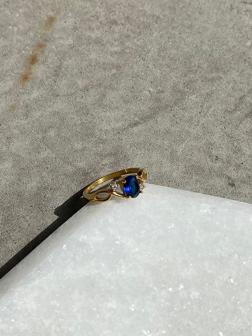 MEG BLUE RING