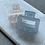 Thumbnail: MATT SMALL HAIRCLIPS - BLUE & WHITE