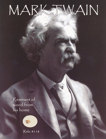 Todd Mueller Relic Card 118 - Mark Twain