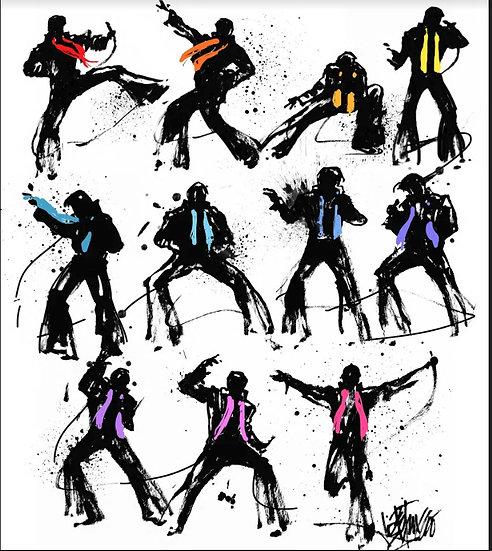 Elvis Presley - SHAKE IT BABY SHAKE Limited Edition Fine Art by Joe Petruccio