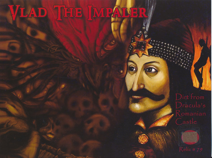 Todd Mueller Relic Card 079 - DRACULA Vlad The Impaler