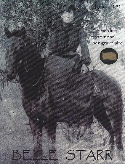 Todd Mueller Relic Card 191 - Belle Starr Gravesite