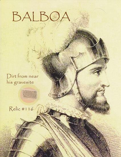 Todd Mueller Relic Card 116 - Vasco Núñez de Balboa