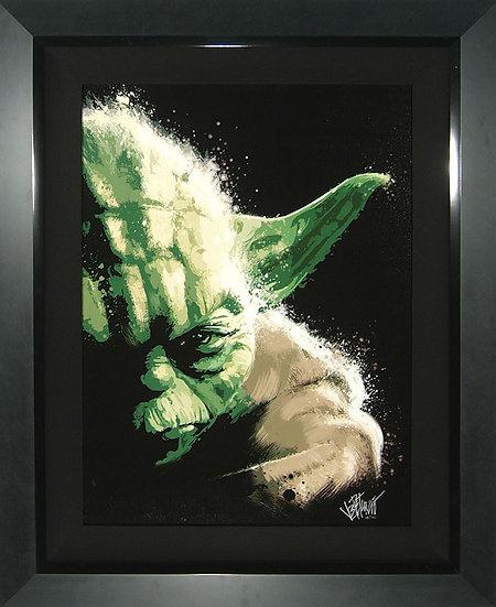 MASTER YODA Limited Edition Star Wars Fine Art Giclee by Joe Petruccio