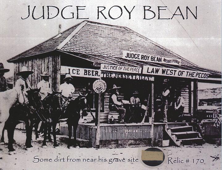 Todd Mueller Relic Card 170 - Judge Roy Bean Gravesite