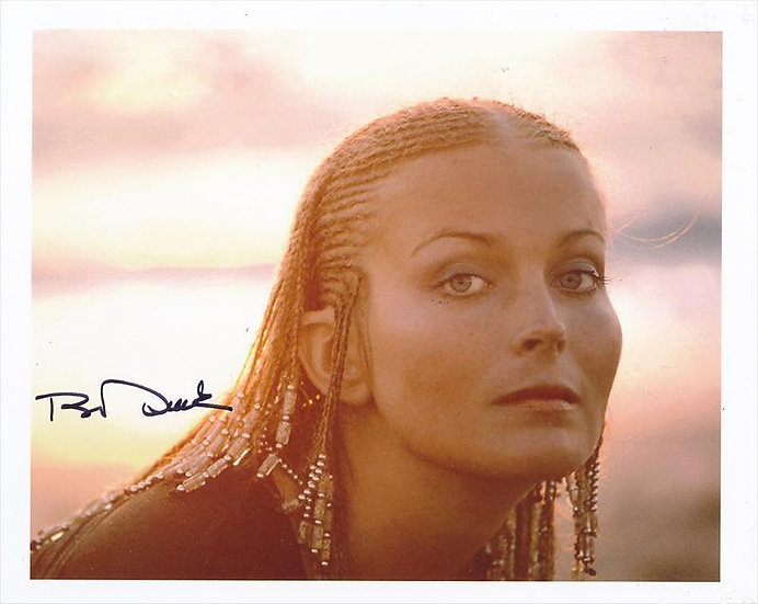 Bo Derek Autographed 8x10 Cornrow Braids Photo from 10
