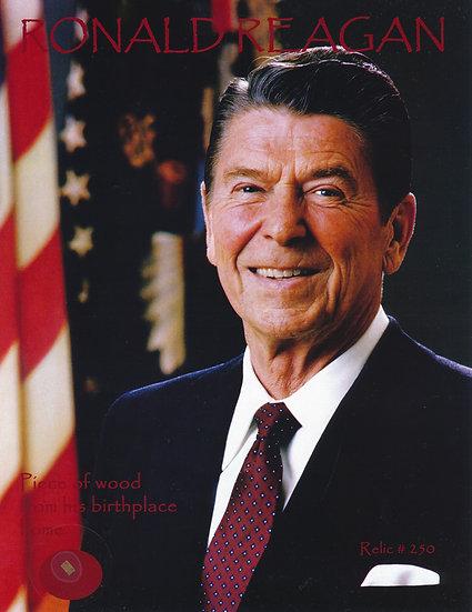Todd Mueller Relic Card 250 - President Ronald Reagan