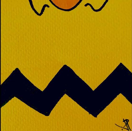 10 PATTERN Original Ink on Paper by Joe Petruccio - Charlie Brown