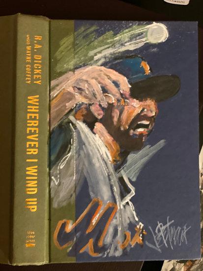 WHEREVER I WIND UP - NY METS RA Dickey Original by Joe Petruccio