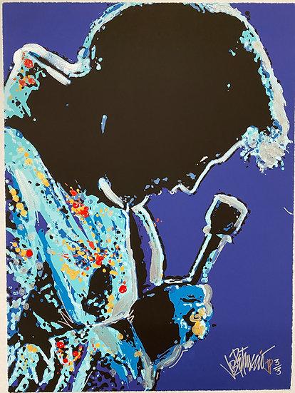 Elvis Presley PLAY IT JAMES Special Edition Fine Art by Joe Petruccio
