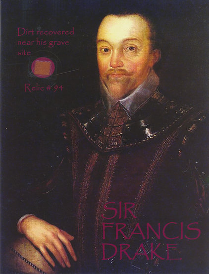 Todd Mueller Relic Card 094 - Sir Francis Drake