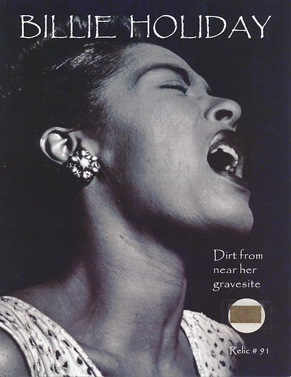 Todd Mueller Relic Card 091 - Billie Holiday Gravesite