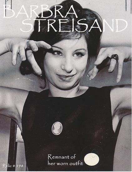 Todd Mueller Relic Card 198 - Barbra Steisand