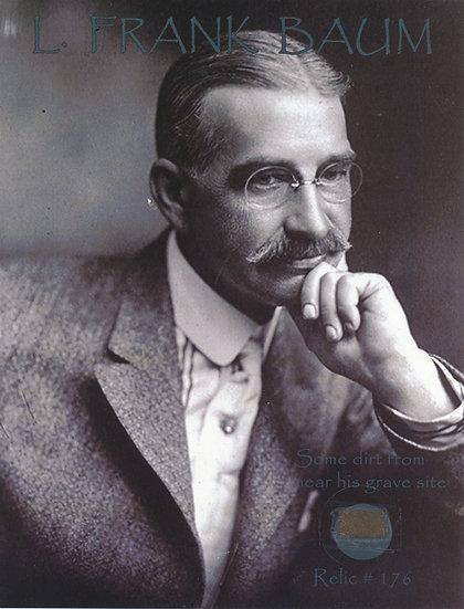Todd Mueller Relic Card 176 - L. Frank Baum Gravesite