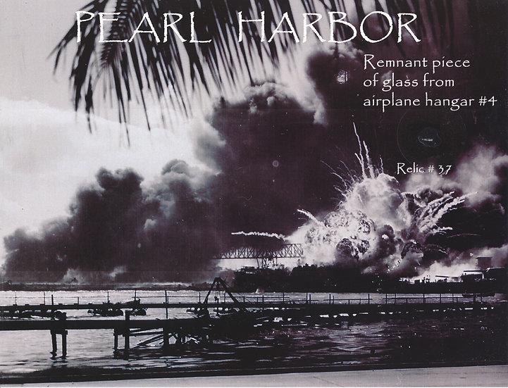 Todd Mueller Relic Card 037 - Pearl Harbor