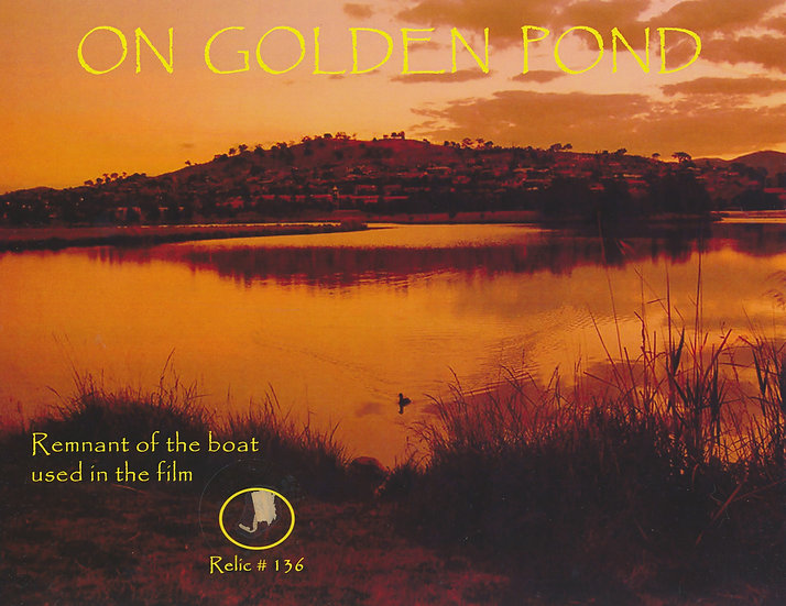Todd Mueller Relic Card 136 - On Golden Pond