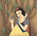 snow white greets baby bird, seven dwarfs, todd mueller autographs, animation slides, cartoon collections, comic books, cartoon collectors ebay