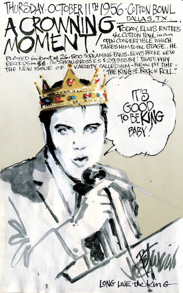 THIS DAY IN ELVIS HISTORY... A CROWNING MOMENT!