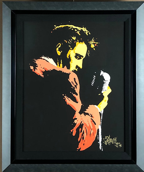 Elvis Presley MEMPHIS 56 Special Edition Fine Art 16x20 by Joe Petruccio