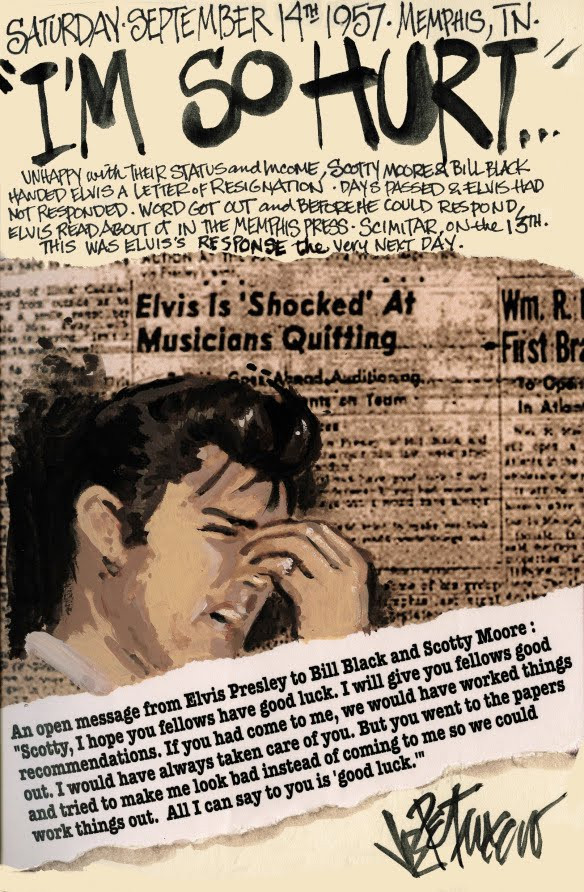 THIS DAY IN ELVIS HISTORY... I'M SO HURT