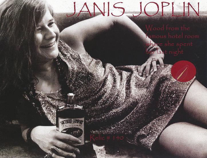 Todd Mueller Relic Card 140 - Janis Joplin
