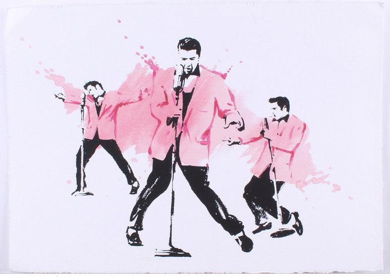 Elvis Presley STRAWBERRY SHAKE III Limited Edition by Joe Petruccio