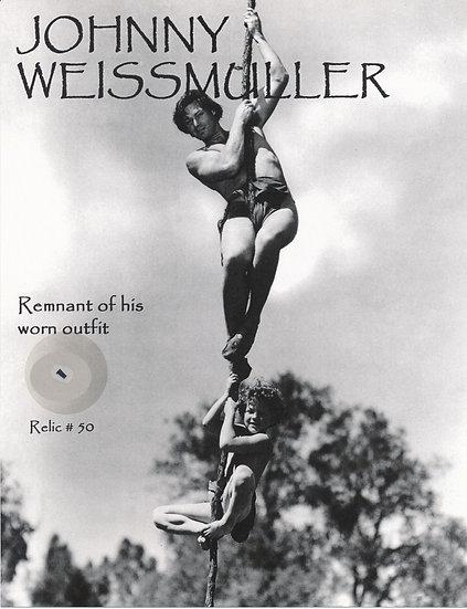 Todd Mueller Relic Card 050 - Johnny Weissmuller