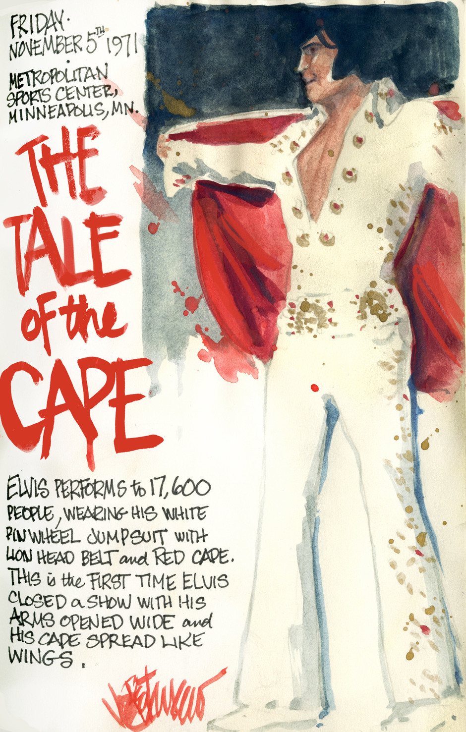 THIS DAY IN ELVIS HISTORY... THE TALE OF THE CAPE