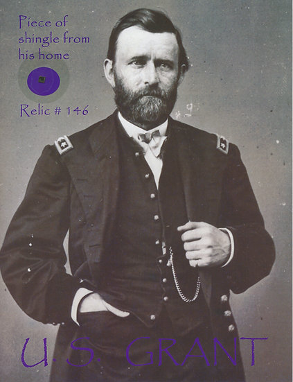 Todd Mueller Relic Card 146 - Ulysses S. Grant