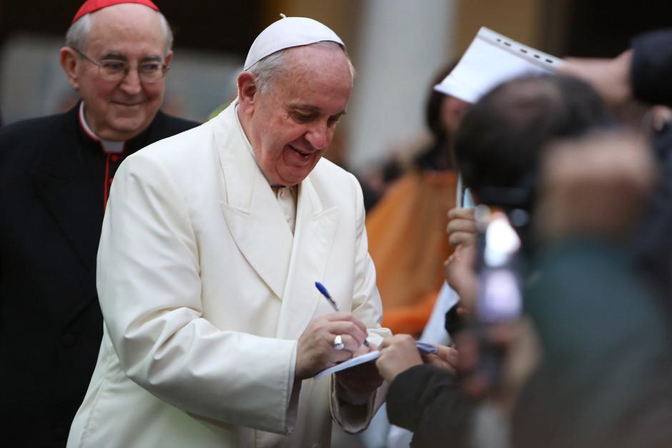 Pope Francis's Autograph Is Worth Big Bucks!