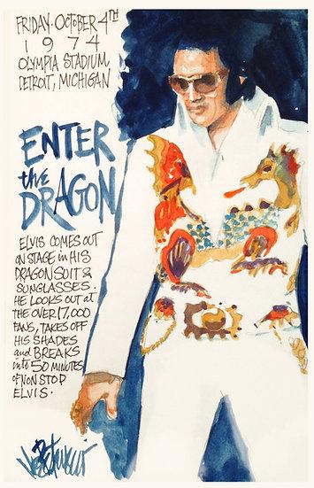 This Day in Elvis History 10-4-1974 ENTER THE DRAGON by Joe Petruccio