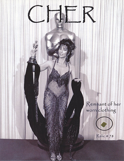 Todd Mueller Relic Card 078 - CHER Worn Clothing