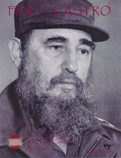 Todd Mueller Relic Card 249 - Fidel Castro