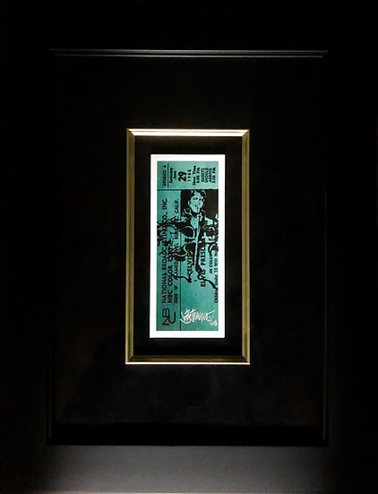 Elvis Presley - THATS THE TICKET Framed 1968 Comeback Special Giclee