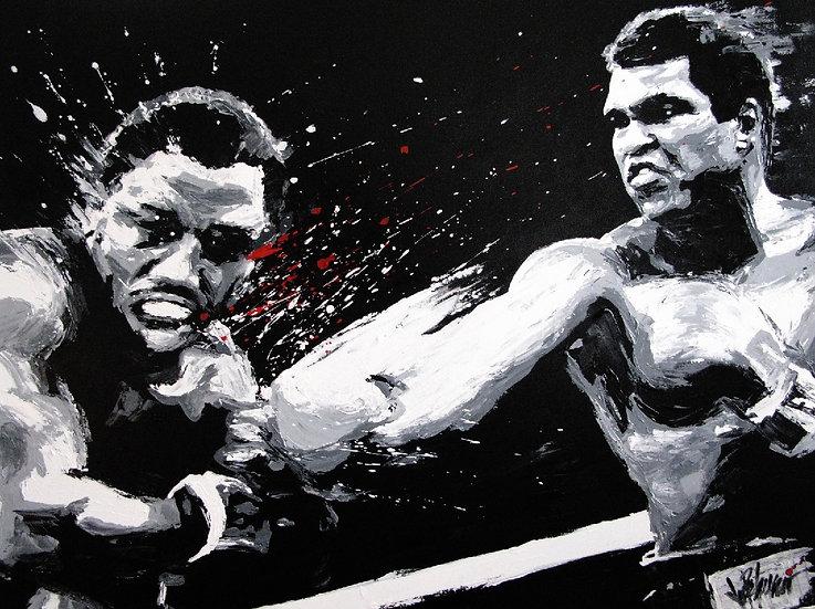 Muhammad Ali THRILLA Artist Proof Fine Art by Joe Petruccio