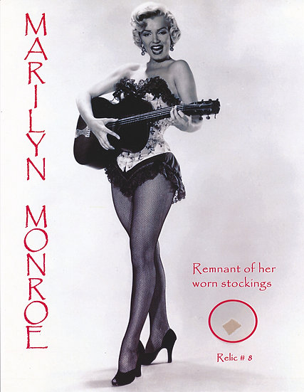 Todd Mueller Relic Card 008 - Marilyn Monroe Worn Stockings